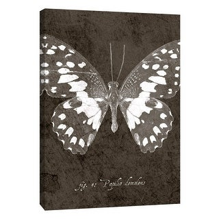 """PTM Images 9-108445  PTM Canvas Collection 10"""" x 8"""" - """"Butterfly M"""" Giclee Butterflies Art Print on Canvas"""