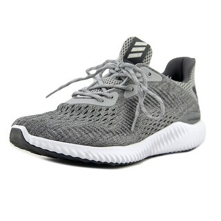 Adidas Alphabounce Engineered Mesh Women Round Toe Synthetic Gray Sneakers (Option: 12.5)