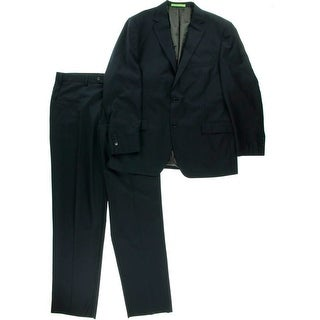 Salvatore Exte Mens Florence 2PC Two-Button Suit - 46L