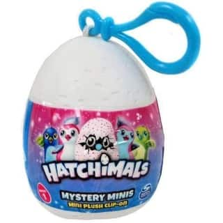 "Hatchimals Mystery Minis Plush Clip-On 2.5"" - 1 Egg - Assorted Colors