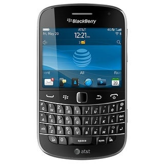 Blackberry Bold 9900 AT&T Unlocked GSM BlackBerry OS Phone w/ Full QWERTY Keyboard - Charcoal Black