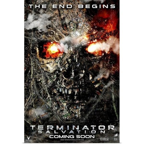 Shop Terminator Salvation 2009 Poster Print Overstock 24137414