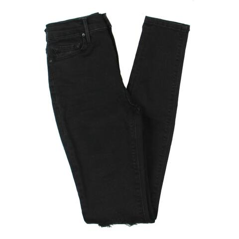 Black Orchid Womens Giselle Skinny Jeans High Rise Ankle - 25