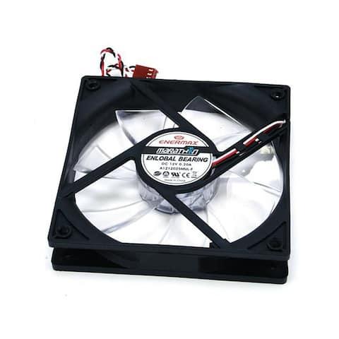 Enermax Marathon Fan - 120mm With Magnetic Bearings Detachable Fan Blades, Cleanable