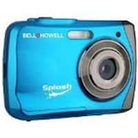 Bell & Howell Wp7Bl Blue Digital Waterproof Camera Splash