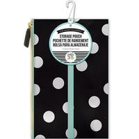 """White Scattered Dot - Create 365 Happy Planner Pouch 5.75""""X9.25"""""""