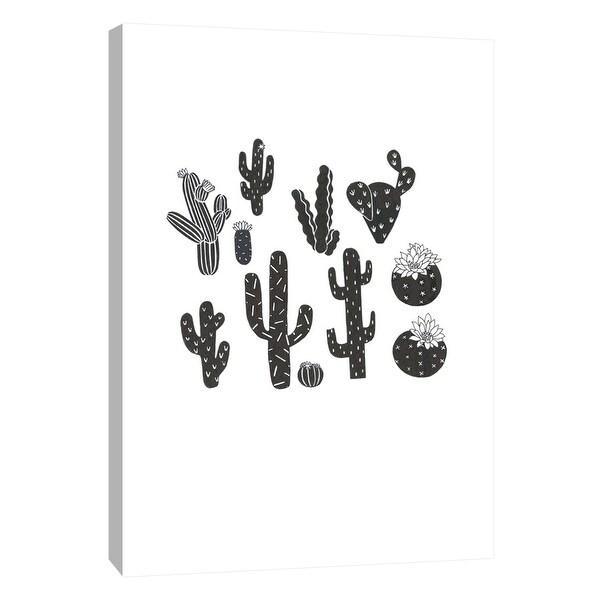 "PTM Images 9-105610 PTM Canvas Collection 10"" x 8"" - ""Desert Plants"" Giclee Cactuses Art Print on Canvas"