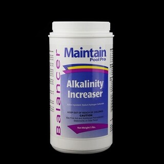 Maintain Pool Pro Balancer Alkalinity Increaser 5lbs