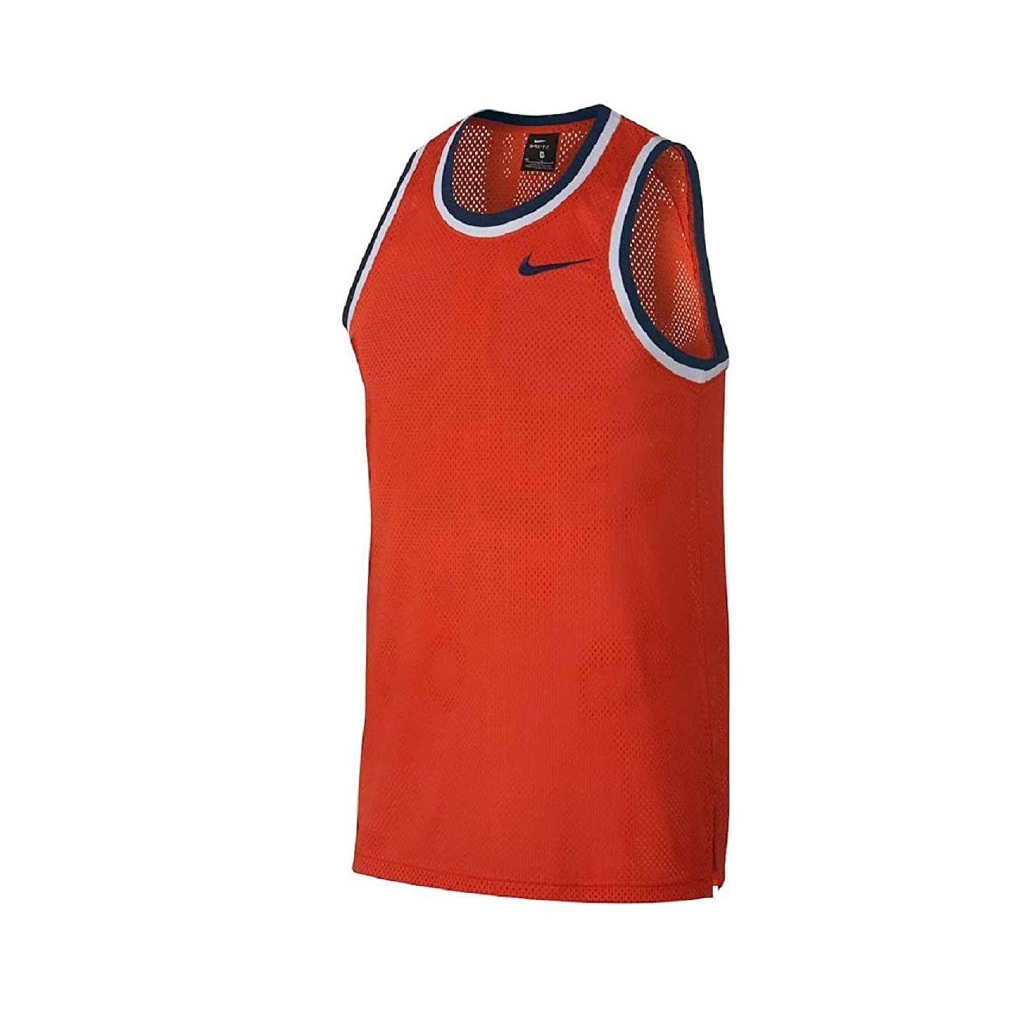 Nike Dri-FIT Classic Men/'s Training Basketball Jersey Dri-FIT Striped Ribbing