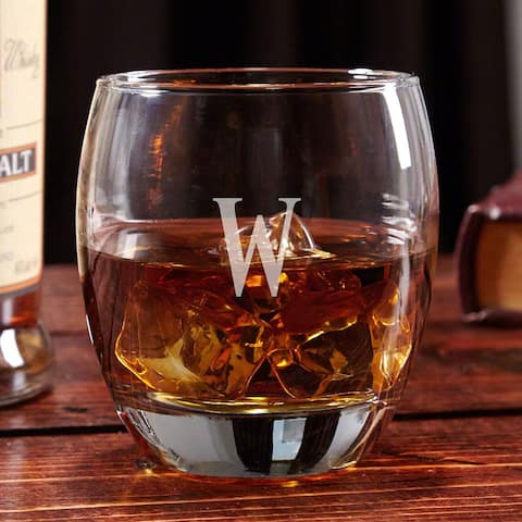 Midtown Personalized Whiskey Glass
