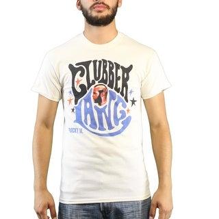 Rocky III Movie Clubber Lang Men's Beige T-shirt