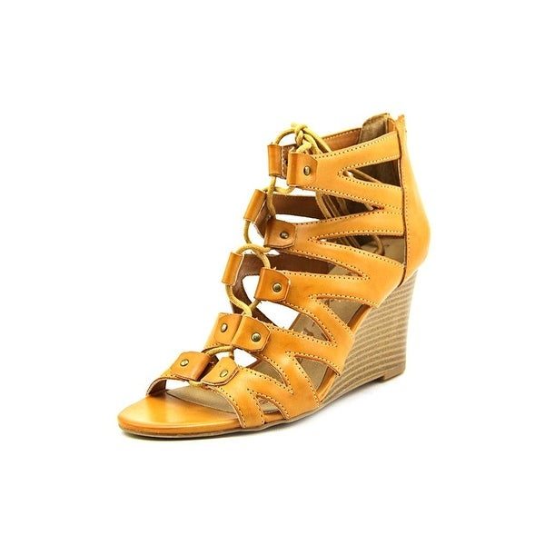 American Rag Women's Carter Wedge Lace Up Gladiator Sandals