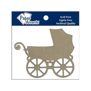Chip Shape 4pc Baby Carriage Natural