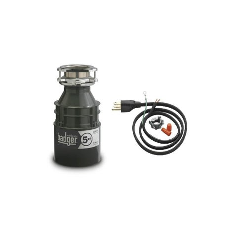 InSinkErator Badger 5XP Badger 3/4 HP Garbage Disposal with Soundseal Technology - N/A