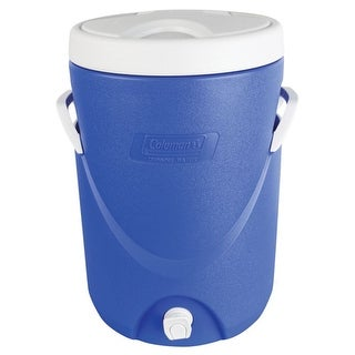 Coleman 5 Gallon Beverage Cooler Cooler 5 Gal Beverage Blue
