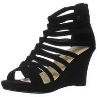 Top Moda Womens Gladiator Wedge Sandals