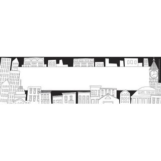 Barker Creek Color Me! Cityscapes Double-Sided Name Plates, Pack of 36