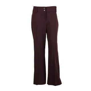 Alfani Two Button Curvy Fit Dress Pants Trousers Slacks - 6
