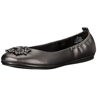 Easy Spirit Womens Georgetta Flats Embellished - 6 wide (c,d,w)