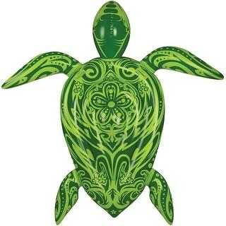 Inflatable 9 ft. Sea Turtle Pool Float - Multi