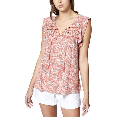 Sanctuary Clothing Womens Wild Bell Pullover Blouse