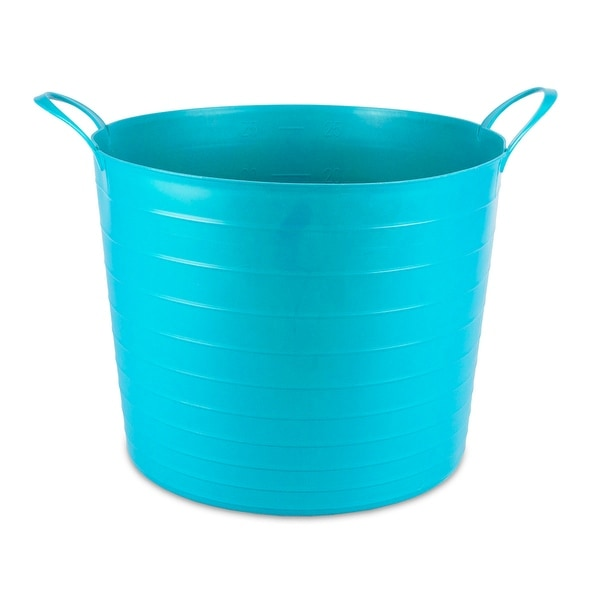 Keter Multi-Purpose Flexible Tub Tote 27 L Turquoise