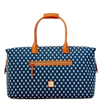 Dooney & Bourke MLB Tigers Medium Duffle (Introduced by Dooney & Bourke at $480 in May 2014) - Navy
