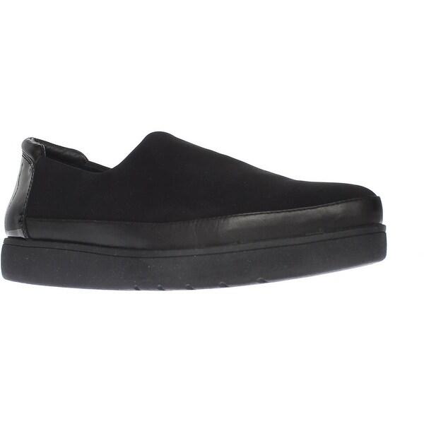 Donald J Pliner Mera Slip-On Platform Loafers, Black