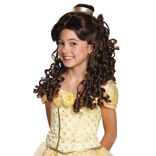 Disguise Belle Ultra Prestige Child Wig - Brown
