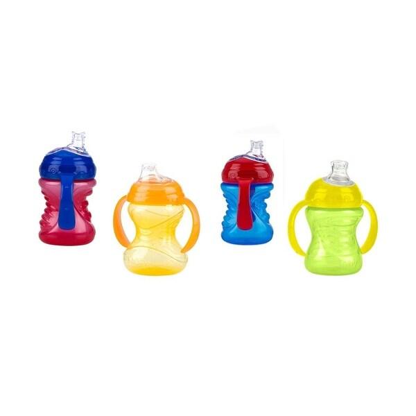 Nuby No-Spill Super Spout Grip N' Sip 8-oz Cup - 4 Pack