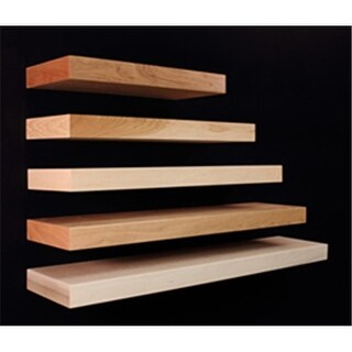 Omega National NPFS0130QUF1 30 in. Long Floating Alder Shelf