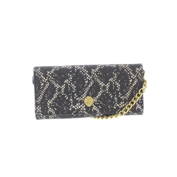 Anne Klein Womens Envelope Wallet Faux Leather Embossed - o/s