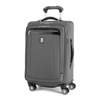 Platinum Magna 2 - 21 Inches - Charcoal Gray 21inch Expandable Spinner Suiter - Black