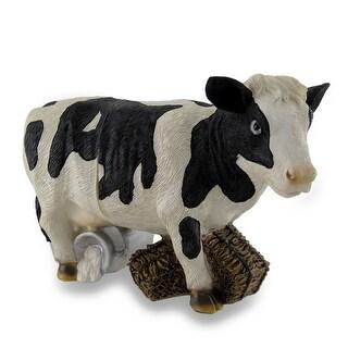 Bovine Wine Holder 2 Piece Cow Bottle Display