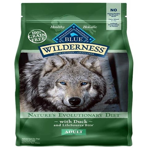 Blue Buffalo Dog Wilderness Grain-Free Duck 11 Lbs. - 11 lbs