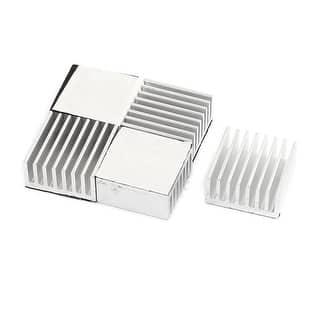 5 Pcs 20 x 20 x 10mm Aluminum CPU Radiator Heatsink Cooling Fin Silver Tone|https://ak1.ostkcdn.com/images/products/is/images/direct/48f8912ec4f133c133cbd27b95adef2ade476966/5-Pcs-20-x-20-x-10mm-Aluminum-CPU-Radiator-Heatsink-Cooling-Fin-Silver-Tone.jpg?impolicy=medium