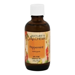 Nature's Alchemy Essential Oil Peppermint 2-ounce
