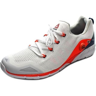 Reebok rf Men Round Toe Synthetic White Running Shoe