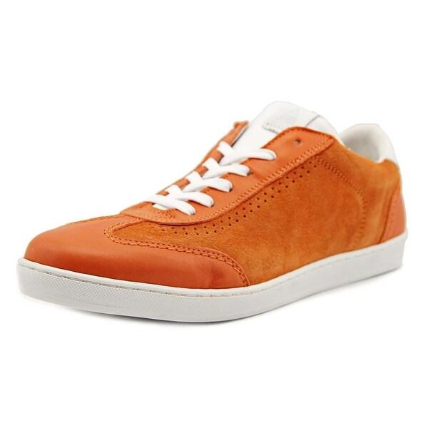 Aldo Baatz Men Leather Orange Fashion Sneakers