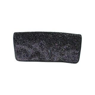 Sam Edelman Womens Waverly Clutch Handbag Glitter Confetti - LARGE