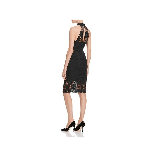a05d2169c696 Shop N Nicholas Womens Cocktail Dress Lace Halter - Free Shipping On ...