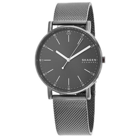 Skagen Men's Signatur Grey Dial Watch - SKW6577 - One Size