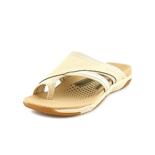 Propet Corinne XT Open Toe Leather Flip Flop Sandal