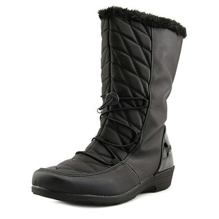 Boston Accent Polly Women Black Snow Boots
