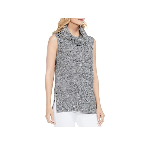 Vince Camuto Womens Turtleneck Sweater Sleeveless