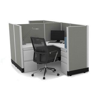 Link to Workstation Desk 53H 2pack Cluster Unpowered Similar Items in Desks & Computer Tables