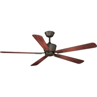 """Vaxcel Lighting F0014 Geneva 52"""" 5 Blade DC Motor Indoor Ceiling Fan - Remote Control and Blades Included"""