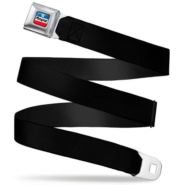 Mopar Chrysler Logo Full Color White Blue Red Black Webbing Seatbelt Belt Seatbelt Belt