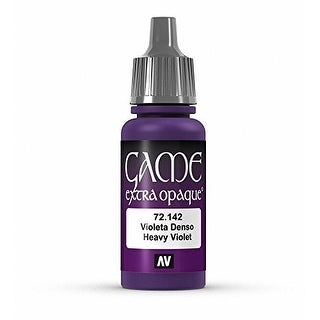 Vallejo Game Color Heavy Violet X-Opaque Paint, 17ml