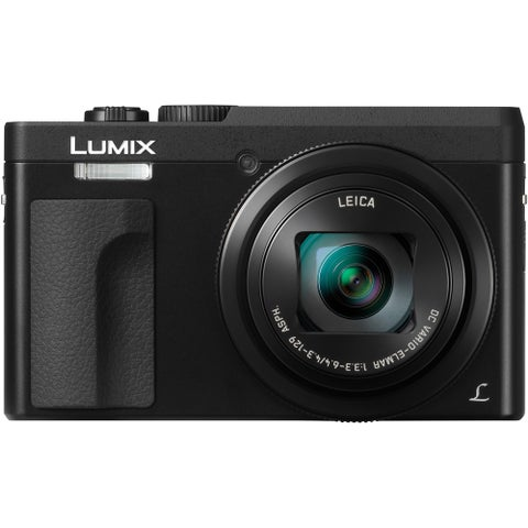 "Panasonic DC-ZS70K Lumix 20.3MP, 4K , Touch 3"" LCD, Flip-Front Display, Wi-Fi"